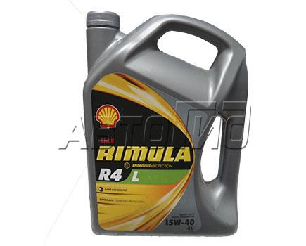 Масло Shell Rimula R4L 15W40